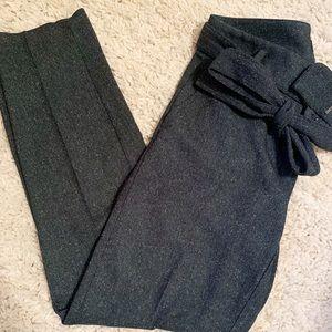 Loft Petite Slim Tie Waist Pencil Pants | Marisa